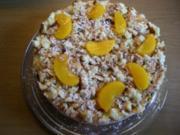Torte : Pfirsich-Eierlikör-Torte - Rezept
