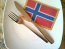 Norsk fiskespidd - Rezept