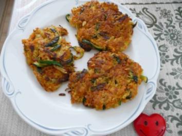 Fleischlose Küche : Gemüsepuffer - Rezept
