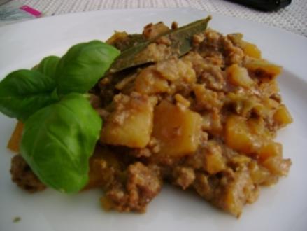 Hackfleisch: Weißkohl-Hack-Kartoffel Pfanne - Rezept