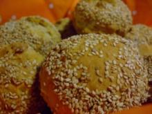 scharfe Dinkel-Peperoni-Brötchen - Rezept