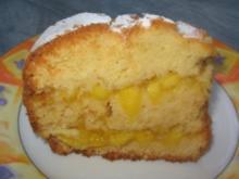 Gefüllter Mango-Kastenkuchen - Rezept