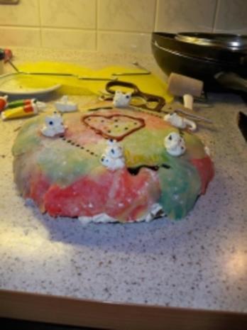 Mohn-Marzipan-Torte meiner Tochter Laura - Rezept - Bild Nr. 2