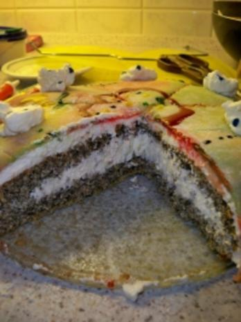 Mohn-Marzipan-Torte meiner Tochter Laura - Rezept - Bild Nr. 3