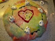Mohn-Marzipan-Torte meiner Tochter Laura - Rezept