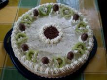 Philadelphia-Kiwii-Vanille-Torte - Rezept