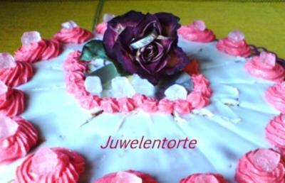 Kuchen  Juwelentorte  Zum Muttertag, Geburtstag, Hochzeitstag - Rezept