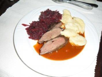 Rehrucken Butterzart Rezept Mit Bild Kochbar De