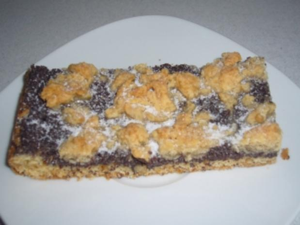 Kikis Mohnkuchen mit Streuseln - Rezept