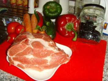 Schweinebraten aus dem Schnellkochtopf…. - Rezept