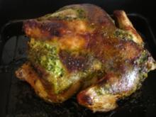 Hähnchen mit Bärlauch- Pesto - Rezept