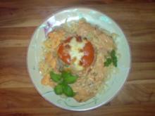 Gefüllte Tomaten mit Tunfisch - Rezept
