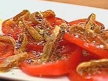 Tomaten mit getrockneten Feigen - Rezept