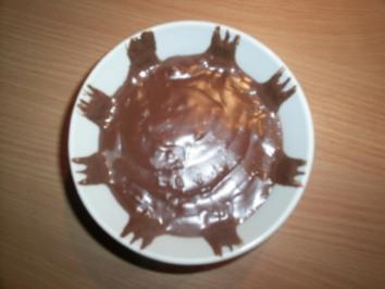 einfache Schokosauce / Schokopudding - Rezept