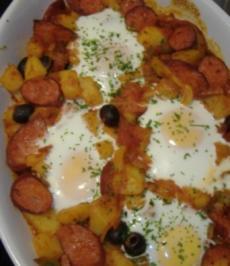 Rezept: Spanischer Kartoffelauflauf