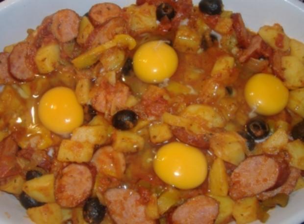 Spanischer Kartoffelauflauf - Rezept
