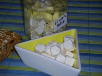 Eingelegter Schafskäse - Rezept