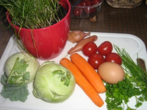 Kohlrabi-Karotten-Salat - Rezept - Bild Nr. 2