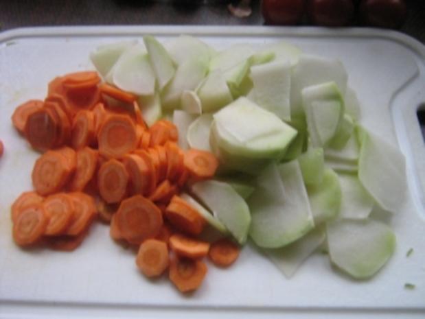 Kohlrabi-Karotten-Salat - Rezept - Bild Nr. 3
