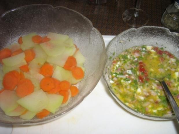 Kohlrabi-Karotten-Salat - Rezept - Bild Nr. 5