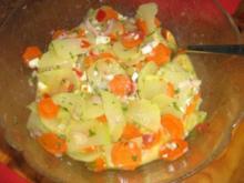 Kohlrabi-Karotten-Salat - Rezept