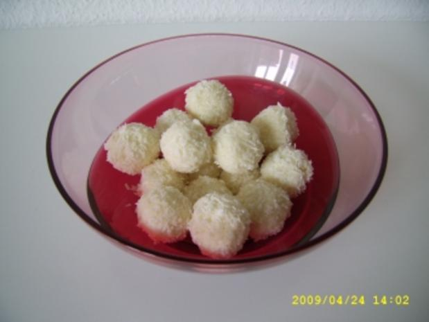 Kokos - Pralinen - Rezept
