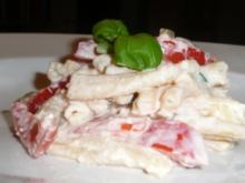 Pasta mit Tomaten-Käse-Creme - Rezept