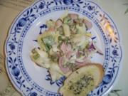 Spargelsalat mit Schinken und Ei - Rezept