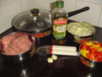 Hackfleischpfanne - Rezept