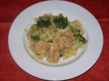 Brokkoli-Garnelen-Pasta - Rezept