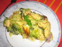 Kartoffel-Gemüse-Lasagne mit Einlage - Rezept