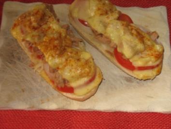 coole thunfischbaguettes - Rezept