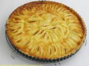 Birnen- oder Apfeltarte - Rezept