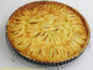 Rezept: Birnen- oder Apfeltarte