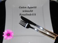 Fisch-Schaschlik in Mandelsoße - Rezept