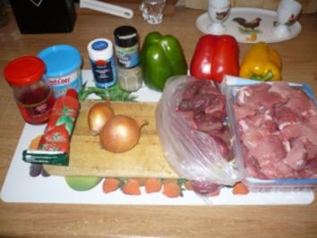 Gulasch ungarisches rezepte for Ungarisches paprikapulver