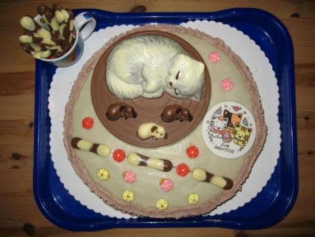 Katzen-Torte - Rezept