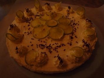 Rezept: Limetten- Quark- Torte