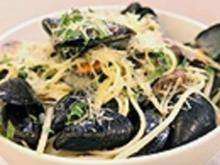 Spagetti mit Meeresfrüchten - Rezept