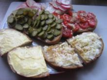 Brot ohne Wurst - Rezept