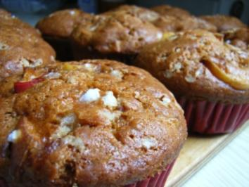 Muffins: Apfel-Zimt-Muffins - Rezept