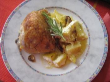 Hähnchen-Kartoffel-Pfanne - Rezept