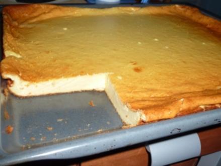 Oma's Käsekuchen vom Blech - Rezept