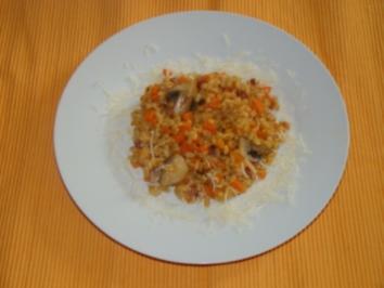 Rezept: Gemüse - Weizen - Risotto