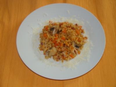 Gemüse - Weizen - Risotto - Rezept