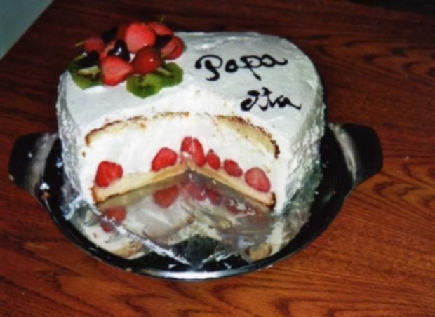 Erdbeer-Joghurt-Torte - Rezept - Bild Nr. 2