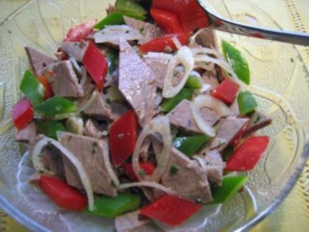 Bunter Rindfleisch-Salat ... - Rezept