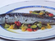 Makrele mit Ratatouille - Rezept