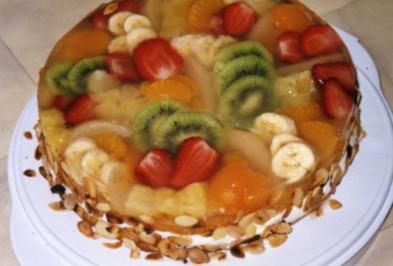 Schwedische Früchtetorte - Rezept