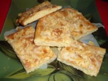 Butter-Mandel-Kuchen einfach oder in gefüllter Version - Rezept